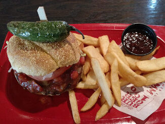 Burning Love Burger (from Red Robin)