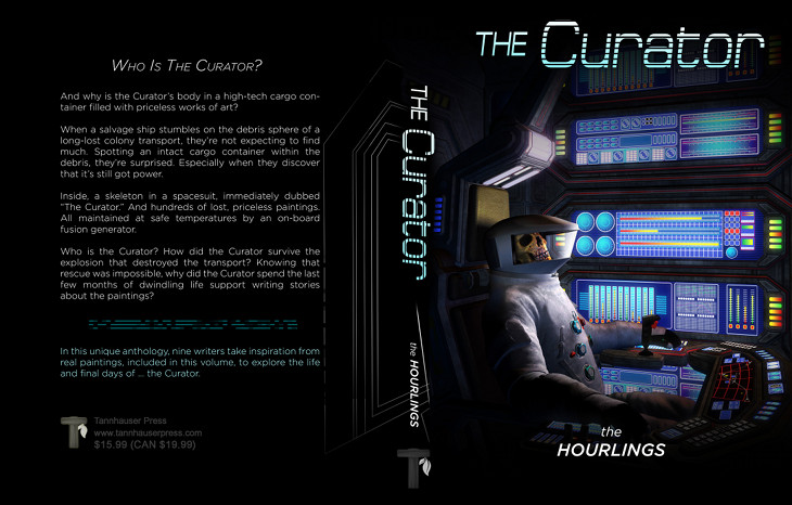 The Curator: Anthology Cover Preview