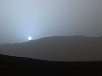 Mars Sunset