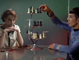 Beth Harmon vs. Spock in 3D Chess