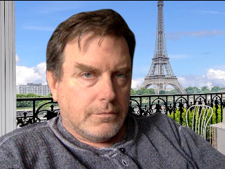 David Keener in Paris